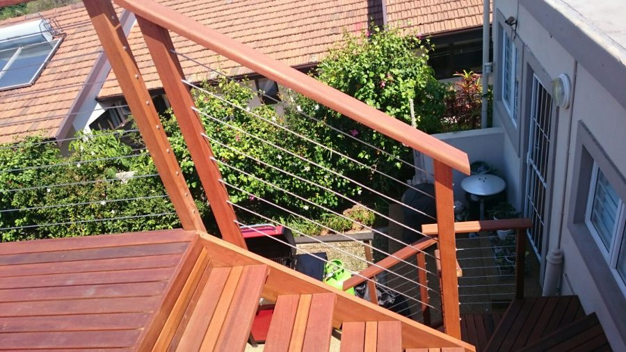 Stainless Steel Wire Rope Balustrades Durban The Wood Joint