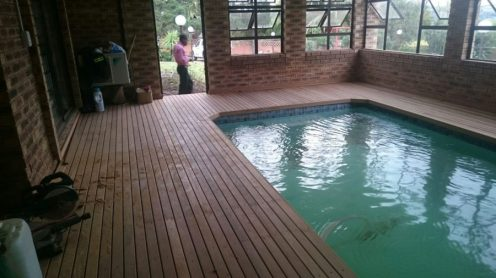 Wooden Pool Deck Estcourt March 2016 3