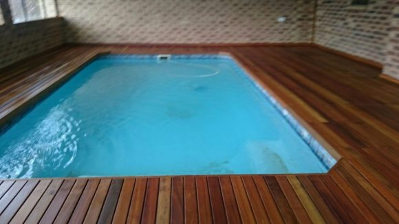 Wooden Pool Deck Estcourt March 2016 1