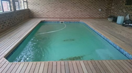 Wooden Pool Deck Estcourt March 2016 4