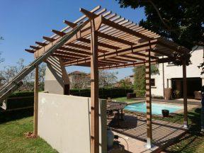 Wooden Pergola Durban August 2016 12