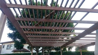 Wooden Pergola Durban August 2016 6