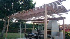 Wooden Pergola Durban August 2016 7