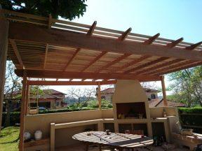 Wooden Pergola Durban August 2016 11
