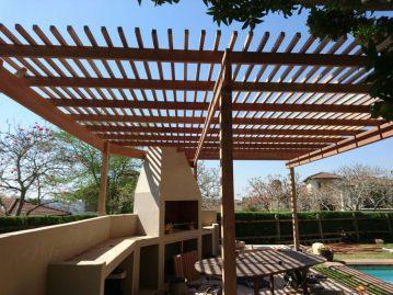 Wooden Pergola Durban August 2016 4