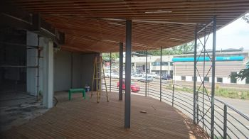 Timber Ceiling and Deck Hillcrest November 2016 2