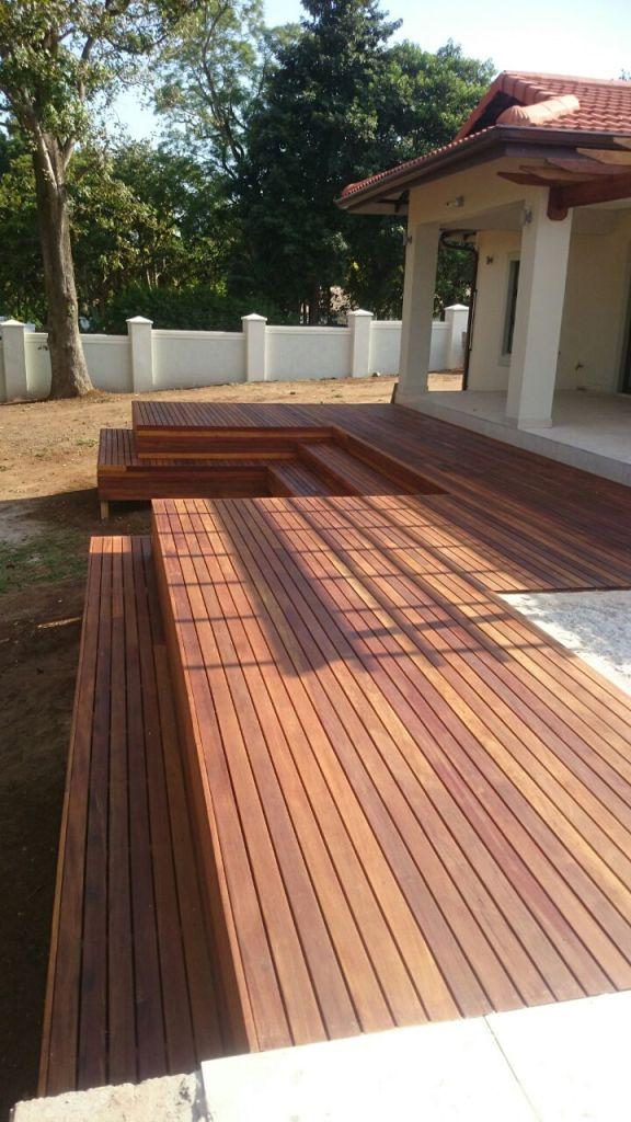 Kloof Balau Timber Deck