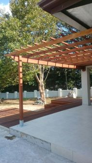 Kloof Balau Timber Pergola