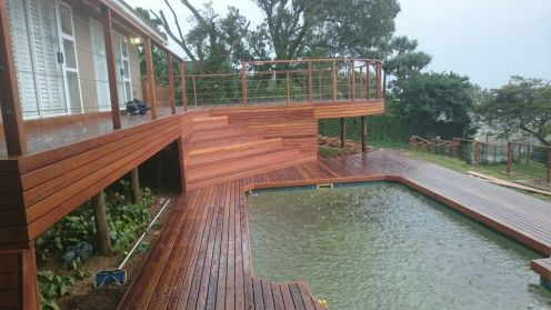 Wooden Deck Umkomaas June 2017 2