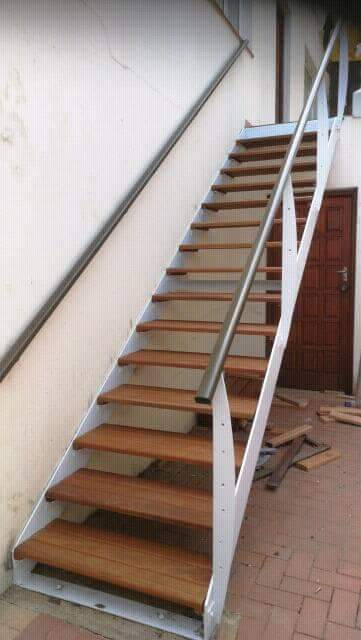 Wooden Balau Stairs Durban