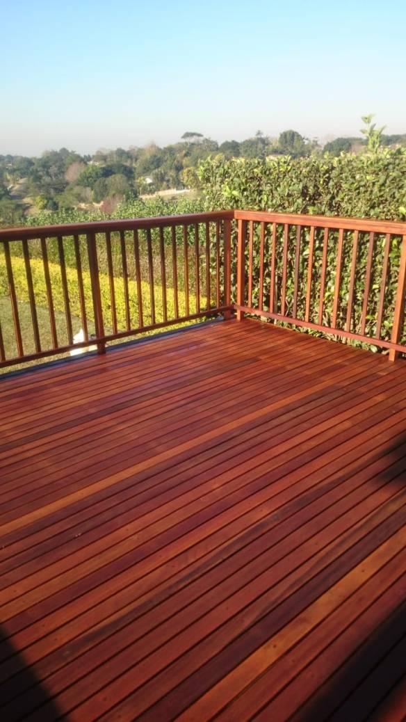 Wooden Deck Gillitts