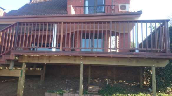 Wooden Deck Gillitts
